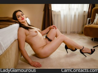 Webcam model LadyGlamourous from CamContacts