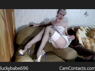 Webcam model luckybabe696 from CamContacts