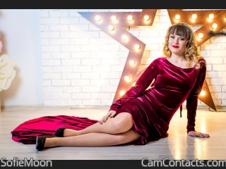 Webcam model SofieMoon from CamContacts
