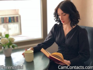 Webcam model FlorenceRid from CamContacts