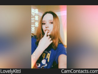 Webcam model LovelyKitti from CamContacts