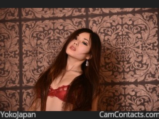 Webcam model YokoJapan from CamContacts