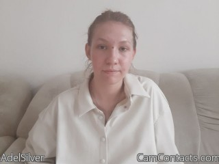 Webcam model AdelSilver from CamContacts