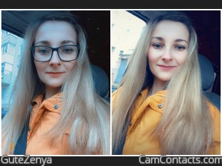 Webcam model GuteZenya from CamContacts