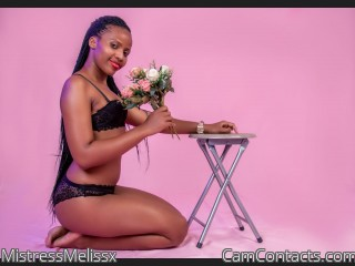 Webcam model MistressMelissx from CamContacts