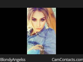 Webcam model BlondyAngelss from CamContacts
