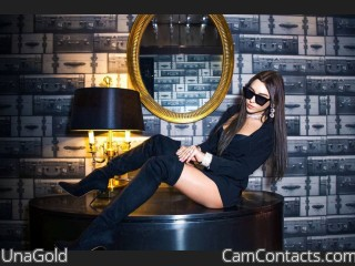 Webcam model UnaGold from CamContacts