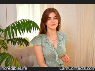 Webcam model IncredibleLife from CamContacts