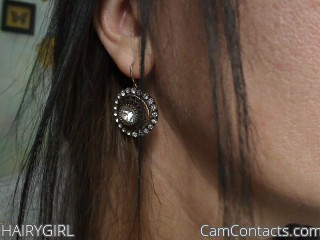 Webcam model HAIRYGIRL from CamContacts