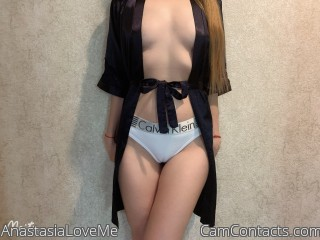 Webcam model AnastasiaLoveMe from CamContacts