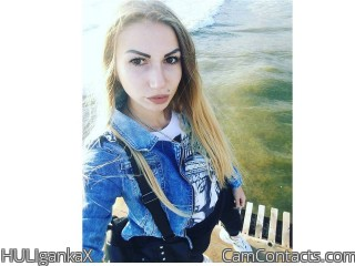 Webcam model HULIgankaX from CamContacts