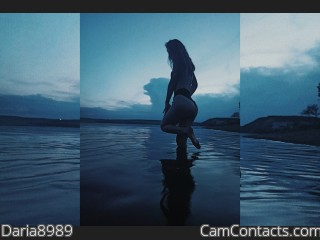 Webcam model Daria8989 from CamContacts