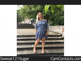 Webcam model Sweeat121Sugar from CamContacts