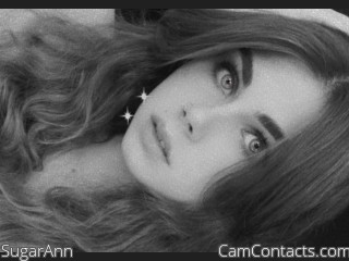 Webcam model SugarAnn from CamContacts