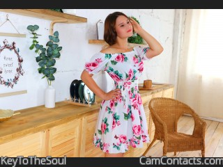 Webcam model KeyToTheSoul from CamContacts