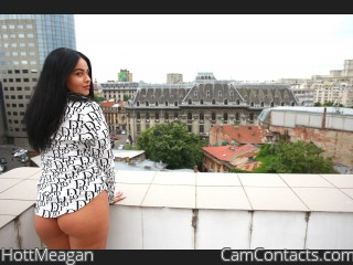 Webcam model HottMeagan from CamContacts