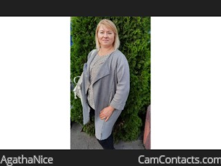 Webcam model AgathaNice from CamContacts