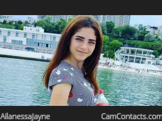 Webcam model AilanessaJayne from CamContacts