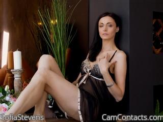 Webcam model SofiaStevens from CamContacts