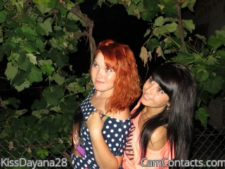Webcam model KissDayana28 from CamContacts
