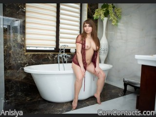 Webcam model Anisiya from CamContacts