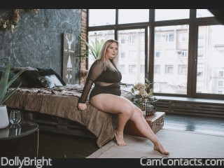 Webcam model DollyBright from CamContacts