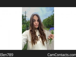 Webcam model Elen789 from CamContacts