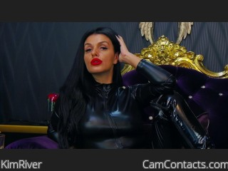 Webcam model KimRiver from CamContacts