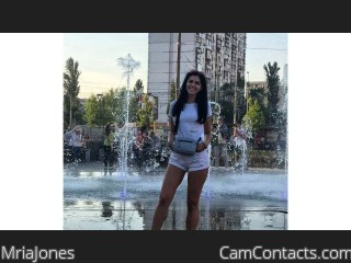 Webcam model MriaJones from CamContacts