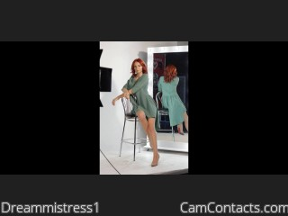 Webcam model Dreammistress1 from CamContacts