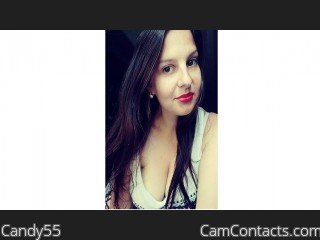 Webcam model Candy55 from CamContacts