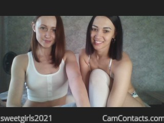 Webcam model sweetgirls2021 from CamContacts