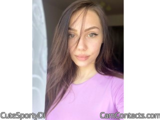 Webcam model CuteSportyDi from CamContacts