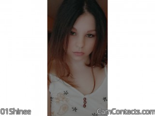 Webcam model 01Shinee from CamContacts