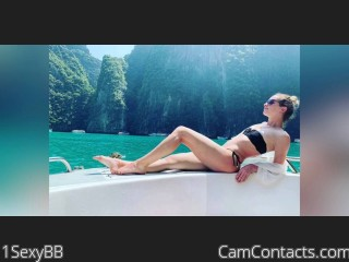 Webcam model 1SexyBB from CamContacts