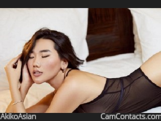 Webcam model AkikoAsian from CamContacts