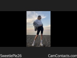 Webcam model SweetiePie26 from CamContacts