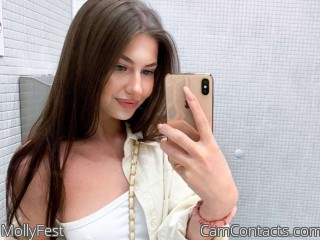 Webcam model MollyFest from CamContacts