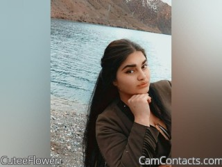 Webcam model CuteeFlowerr from CamContacts