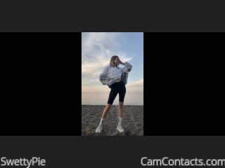 Webcam model SwettyPie from CamContacts