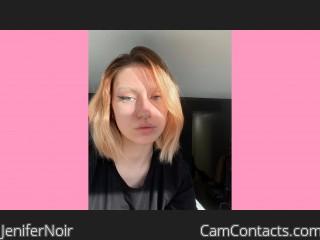 Webcam model JeniferNoir from CamContacts
