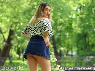 Webcam model KaraCute from CamContacts