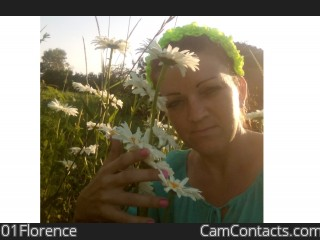 Webcam model 01Florence from CamContacts