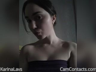 Webcam model KarinaLavs from CamContacts