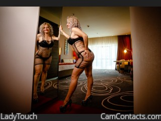 Webcam model LadyTouch from CamContacts