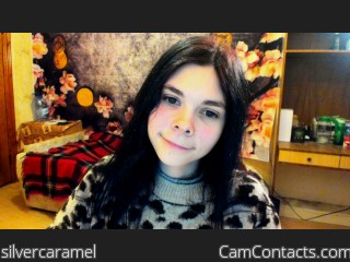 Webcam model silvercaramel from CamContacts