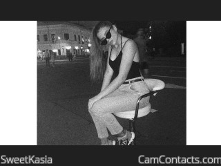 Webcam model SweetKasia from CamContacts