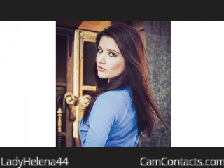 Webcam model LadyHelena44 from CamContacts