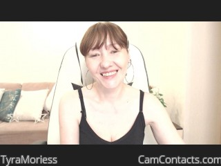 Webcam model TyraMoriess from CamContacts