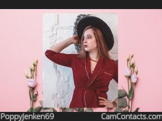 Webcam model PoppyJenken69 from CamContacts
